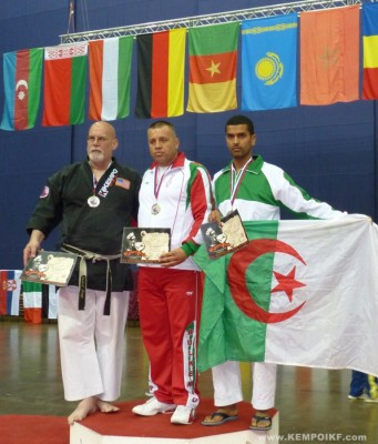 Velin Hadjolov wins IKF Traditional Kempo WKC 2011 !
