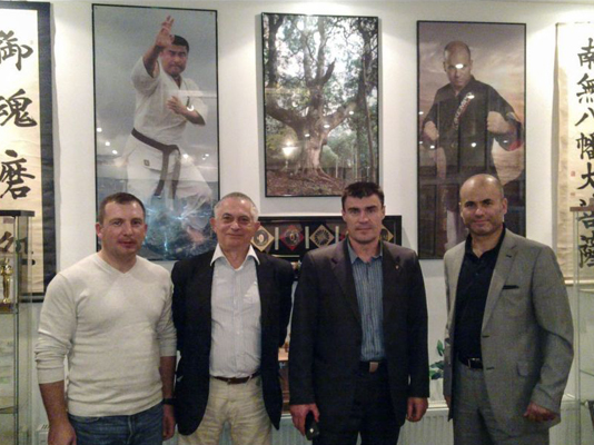 Moldavian delegation to IKF Headquarter