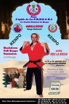 IKF-Kempo Seminar in Morocco , 2013