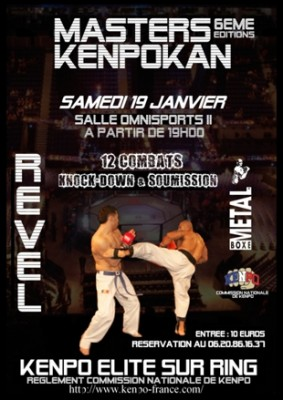 The 6th IKF Masters Kenpo France