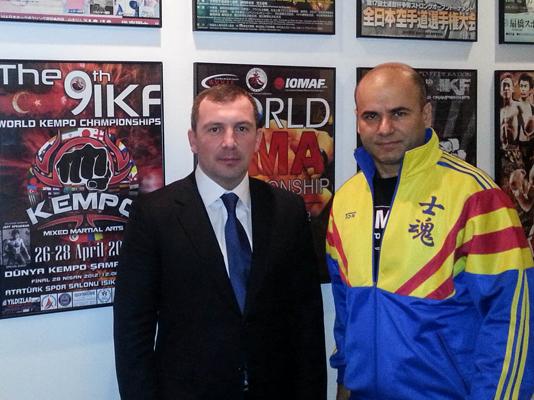 Kempo Moldavia visited IKF