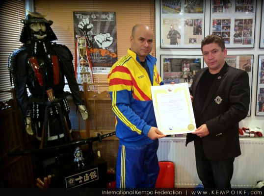 Orhan Ozakti visited IKF