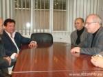 ANS President Octavian Bellu , Jeff Speakman , 2008