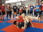 Bernardo Serrini, IKF Grappling Seminar, Bucharest-Romania, 2017