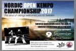 NORDIC OPEN KEMPO CHAMPIONSHIP, Sweden, 2017