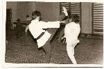 Romania-Amatto Zaharia open dojos in Bucharest, 1986-1987