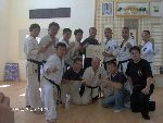 Open Kempo / SHIDOKAN DOJO. Bucharest 2004