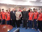 Greeting ceremony NSA 2006