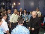 Greeting ceremony NSA 2007